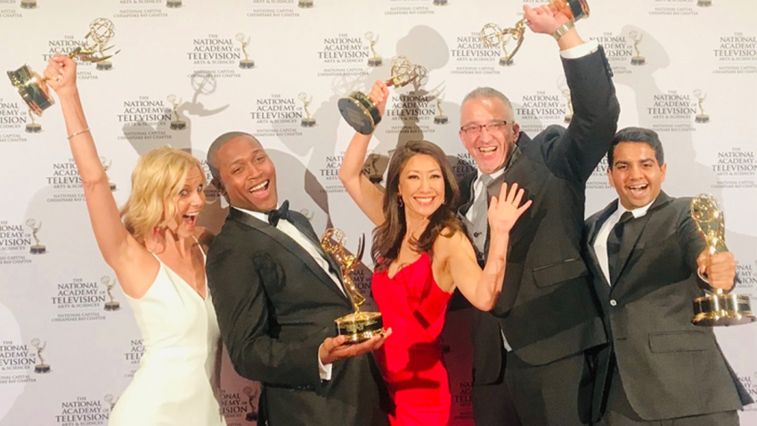 emmys morning team with awards Untitled-1