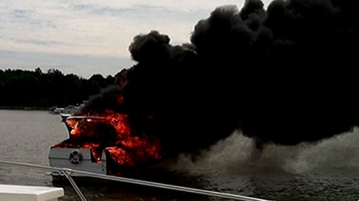 essex boat fire explosion