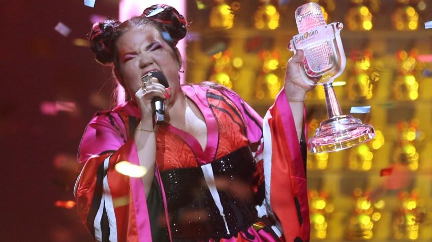 APTOPIX Portugal Eurovision Song Contest