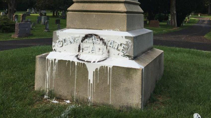fairfax city cemetery monument
