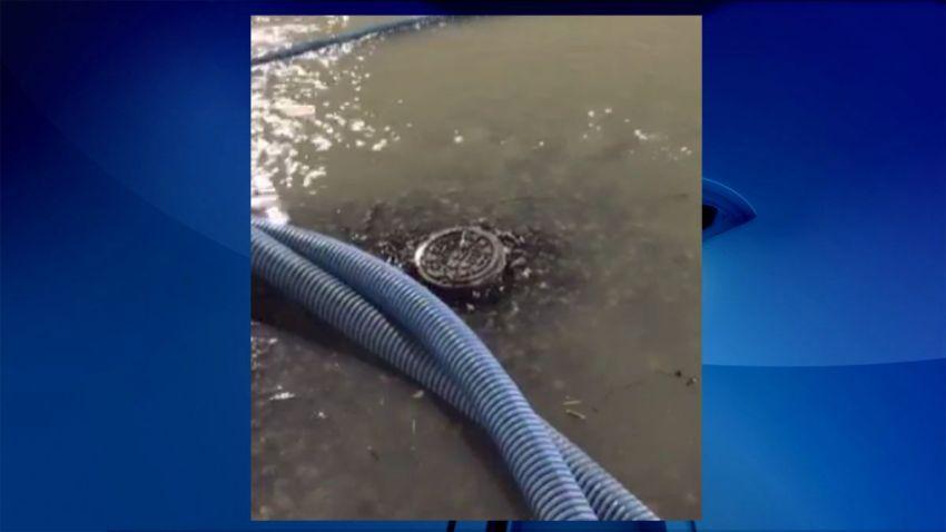 falmouth park sewage leak stafford