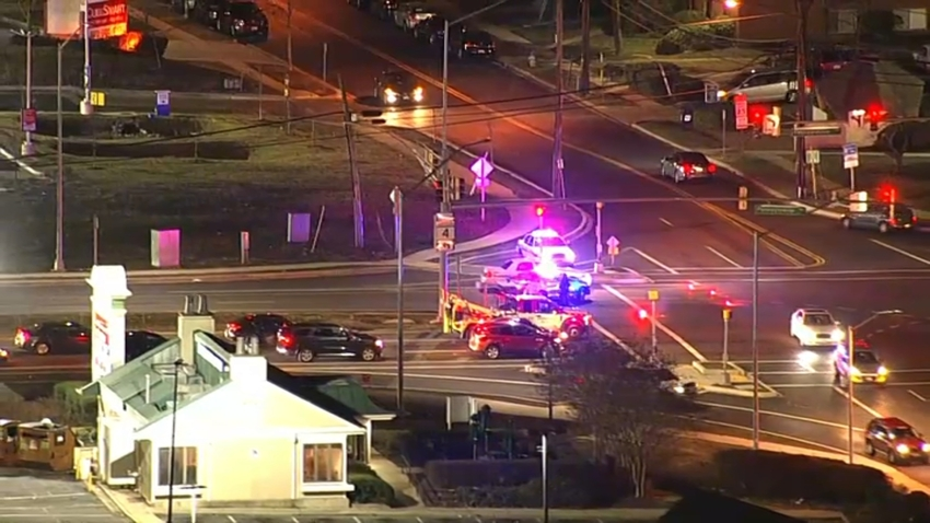 A pedestrian was struck and killed by a hit-and-run driver in Forestville.
