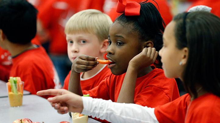 healthy snacks in schools