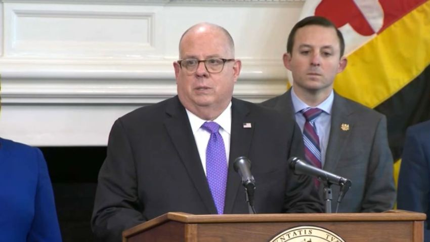 larry hogan speaks on coronavirus