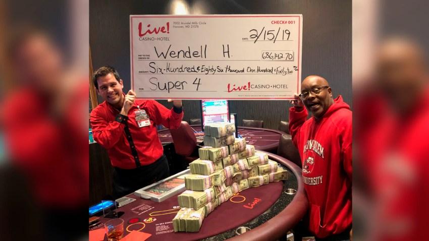 live casino win
