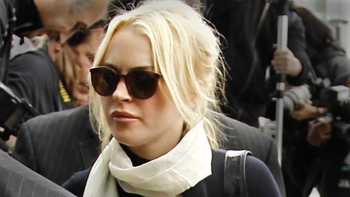 Lindsay Lohan Arrives