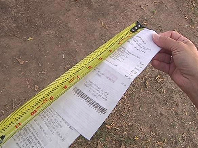 long-receipts