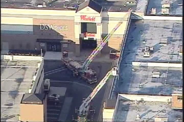 mall fire