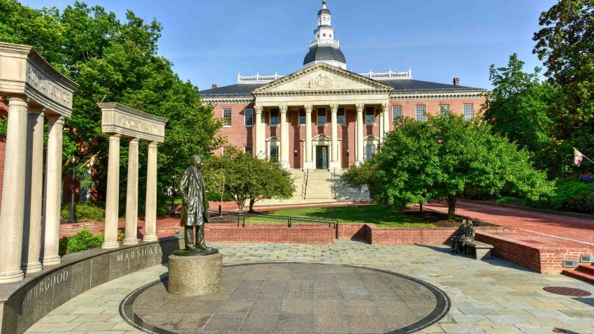 The Maryland State House in Annapolis