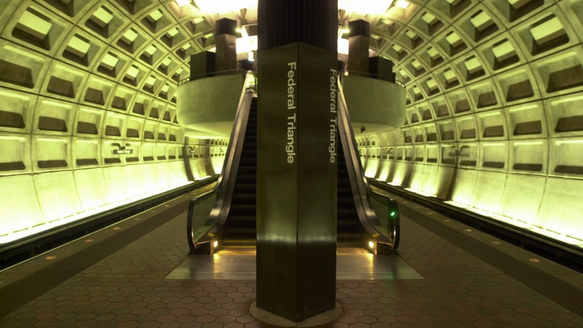 Metro station Federal Triangle