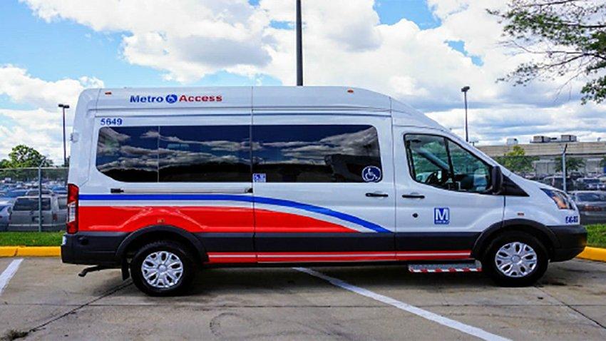 A MetroAccess vehicle