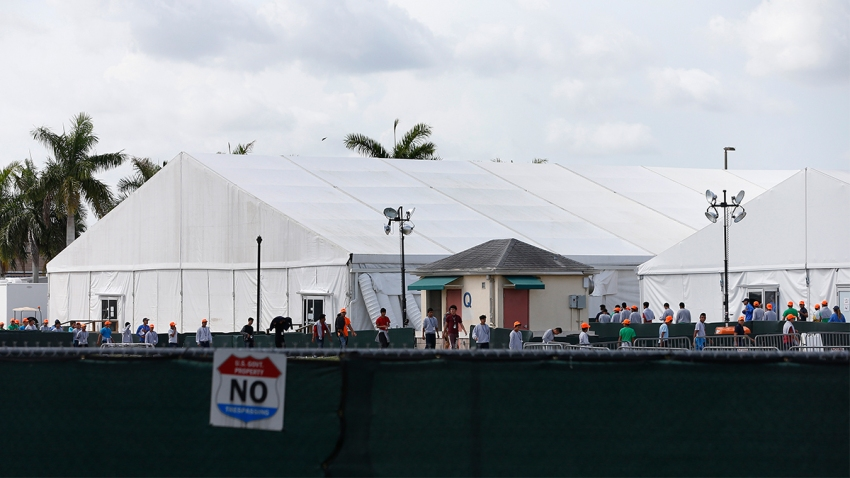 migrant detention center rhona wise getty images