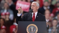 Vice President Mike Pence Courts Evangelical Latino Voters at Central Florida Stops