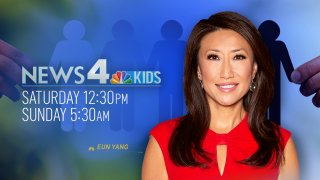 Eun Yang hosts News4 Kids