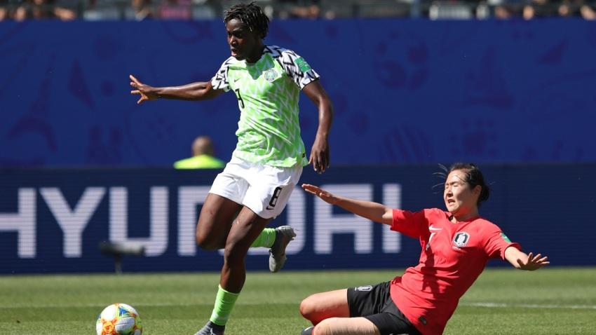 France Nigeria South Korea WWCup Soccer