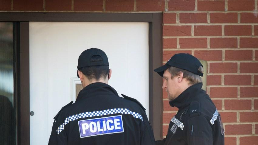 police door GettyImages-464951338