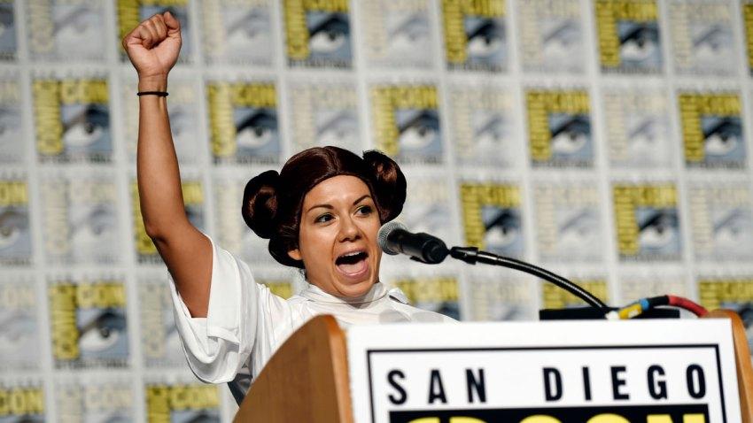 2017 Comic-Con - Princess Leia Tribute