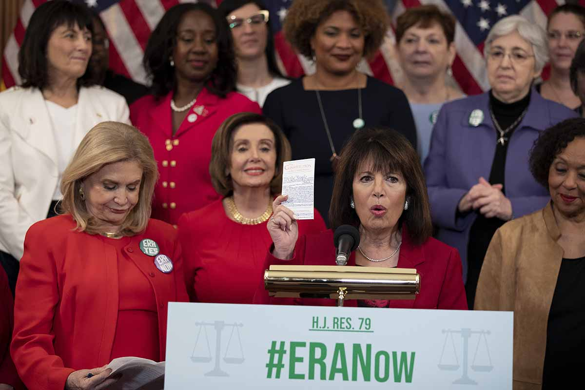 House Acts to Remove 1982 Deadline for Equal Rights Amendment