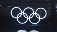 Tokyo Marks 6 Months Until Summer Games with Ring Lighting