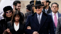 'Historic Corruption': Romney Blasts Trump for Commuting Roger Stone's Prison Sentence