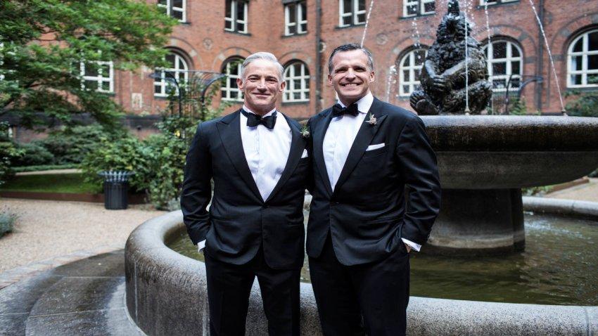 Denmark Ambassador Wedding