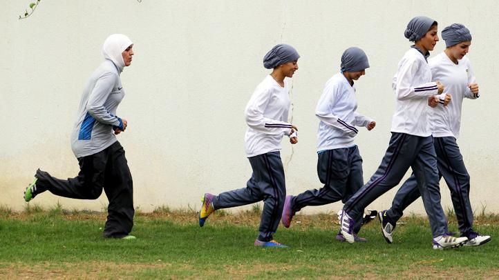 London 2012 Saudi Women