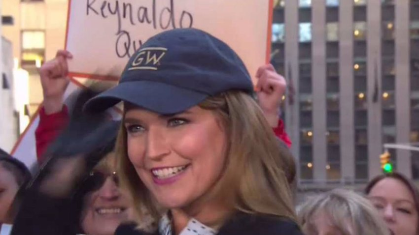 savannah guthrie gw commencment