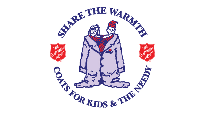share the warmth coat drive logo
