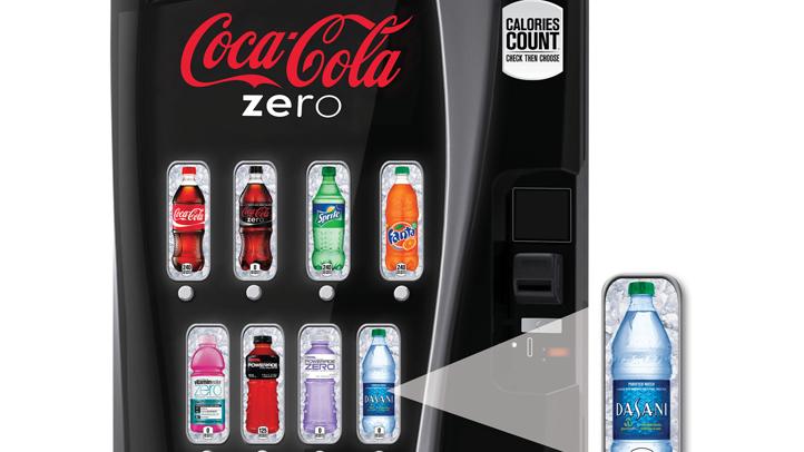 Calorie Count-vending Machines