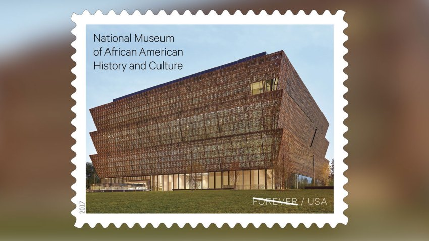 AFRICAN AMERICAN MUSEUM STAMP