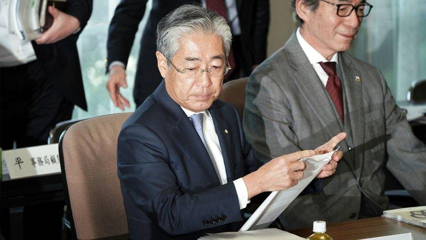 Japan Olympics Takeda Resignation
