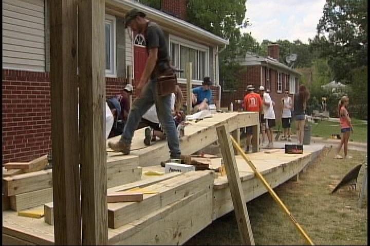 teens build ramp