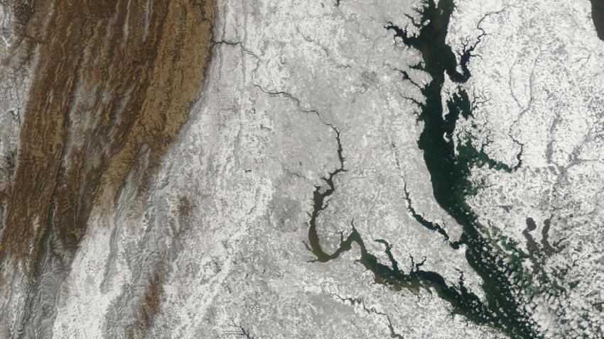 Terra Satellite Image