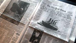 titanic new york times