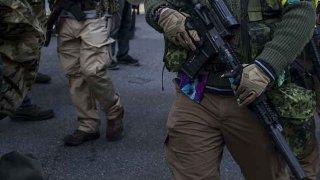 gun rights protesters in Virginia