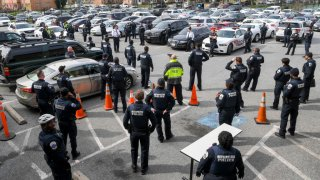 Dc police department social distancing