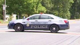 A Prince George's County police car.