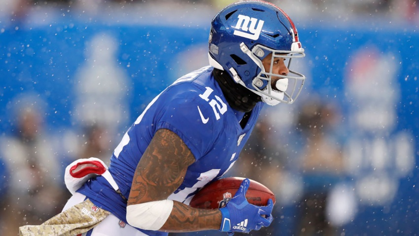 Cody Latimer as a member of the New York Giants in action against the Green Bay Packers at MetLife Stadium Dec. 1, 2019, in East Rutherford, New Jersey.