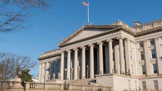 US Treasury Department exterior