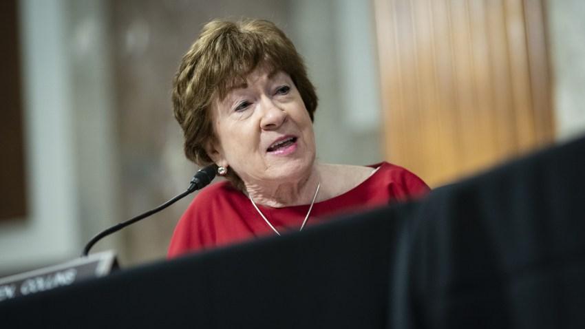 Senator Susan Collins speaks