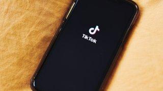 ByteDance Ltd.'sTikTok app, displayed on a smartphone in Brooklyn, N.Y., July 1, 2020.