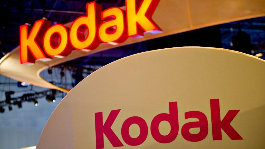 The logo of the Eastman Kodak Company