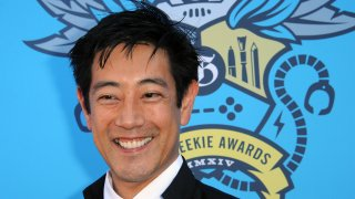 Actor Grant Imahara arrives for The Geekie Awards 2014 held at Avalon on August 17, 2014 in Hollywood, California.