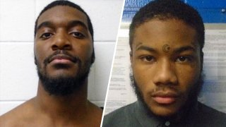 Two young men who escaped from Virginia juvenile facility