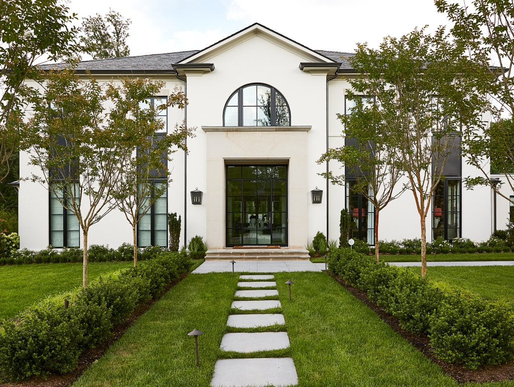 Aspire House McLean Exterior, Photo by Stacy Zarin Goldberg