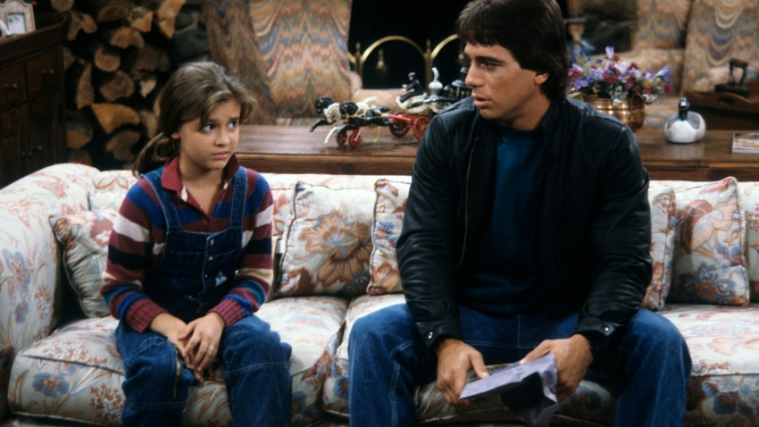 """""""Samantha's Growing Up,"""" and episode of """"Who's the Boss?"""" aired on Jan. 8, 1985. This photo shows Alyssa Milano and Tony Danza."""