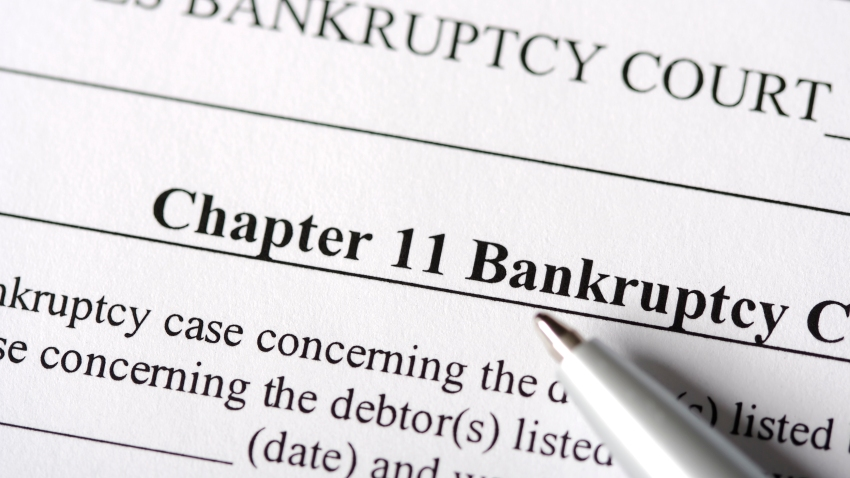 A file photo to illustrate Chapter 11 bankruptcy.