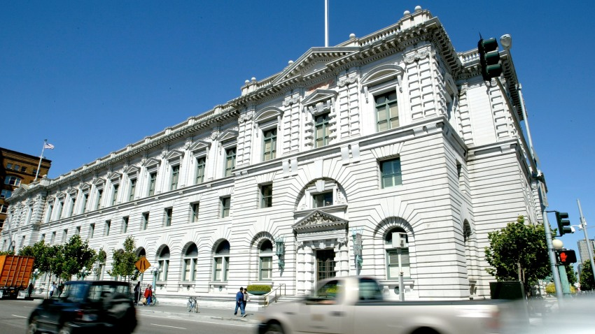 The Ninth Circuit Court of Appeals is seen September 17, 2003 in San Francisco, California.