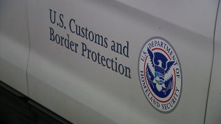U.S. Customs and Border Protection logo.