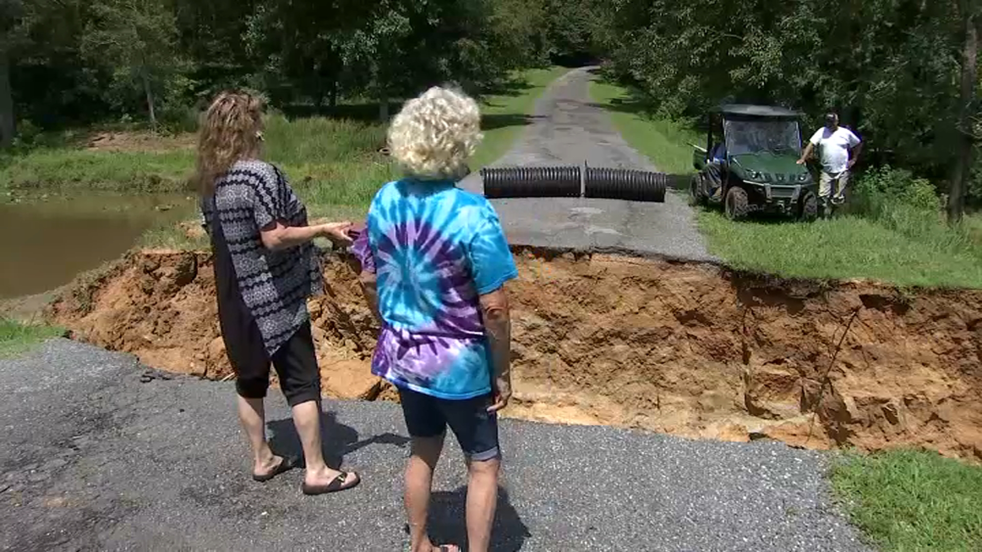 Some Calvert County Residents Still Stranded Due to Storm Damage